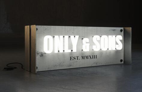 Only & Sons Logoboks design 03