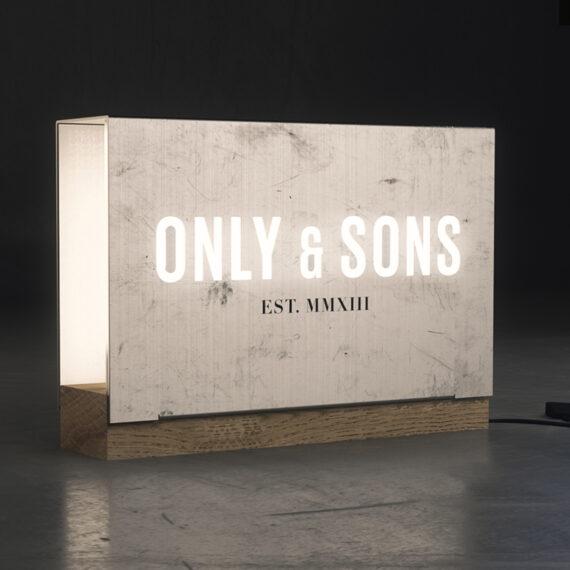 Only & Sons Logoboks design 01