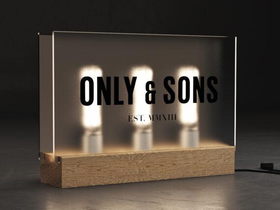 Only & Sons Logoboks design 04
